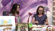 Mulher.com - 15/12/2016 - Toalha de rosto com patchaplique - Priscila Mu...
