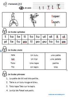 Fiches sons des consonnes avec Patati et Patata French Teacher, Teaching French, French Language Lessons, French Classroom, Classroom Games, Teacher Tools, School Resources, Learn French, Phonics