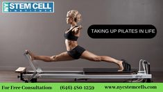 """New York Pilates exercise strengthen your core. From your shoulders to knees, this whole """"powerhouse"""" is important for balance and stability and preventing falls and injuries. For Free Consultation: Pilates Nyc, Pilates For Men, Pilates Chair, Pilates Moves, Pilates Body, Pilates Workout, Pilates Ring, Pregnancy Pilates, Pilates Machine"""