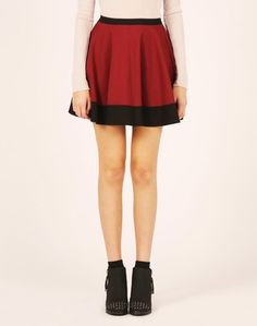 #glassons.com             #Skirt                    #Colour-Block #Ponte #Skater #Skirt                 Colour-Block Ponte Skater Skirt                                               http://www.seapai.com/product.aspx?PID=768146