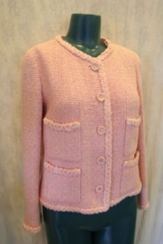 Classic Chanel jacket in pink 2010