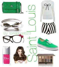 """""""Nerdy chic"""" by tornadogirl623 on Polyvore"""
