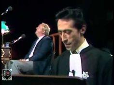 Luis Rego la journée d'un fasciste Tribunal des Flagrants Délires Accusé...