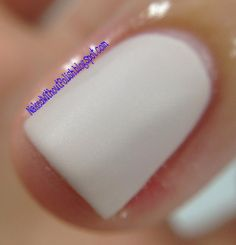 Macro of A Girl Obsessed But He Loves Pie topped with Matte-ict matte top coat.