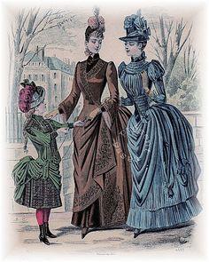 Journal des Demoiselles, Paris 1st December 1887