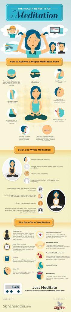 Take a breather. The Health Benefits of Meditation. #BenefitsofMeditation