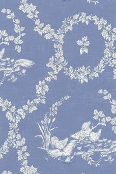 Pierre Deux French Country Fabric Blue