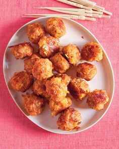 Sausage Cheddar Balls--Martha knows how to get it done! These were awesome