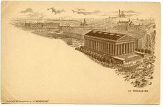 Cartão postal para a Expo Universal de Paris, 1900