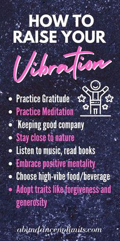 How to Raise Your Vibration with Law of Attraction