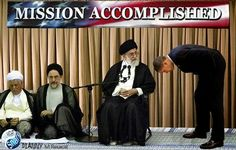 Pro Hezbollah paper : 4-3-15 obama ended his speech w/ 'khamenei, i am at your service'obama-iran