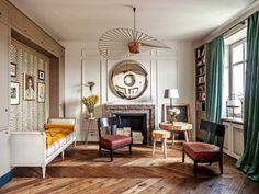 Prewar Apartment - Modern French Decor Inspiration | Architectural Digest