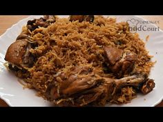 Very Easy and Tasty/ Chicken Biryani in Pressure Cooker Recipe Videos, Food Videos, Easy Chicken Biryani Recipe, Dp Photos, Garlic Paste, Pulled Pork, Cooker, Mint