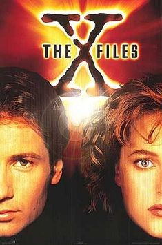 The X-Files - this will always remain one of my favourite Tv shows ever!!!! Mulder (David Duchovny) and Scully (Gillian Anderson) were amazing.