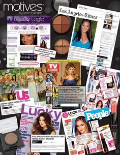 MOTIVES Cosmetics is in the Press again. The fastestgrowingcosmetic line in thecountryis making headlines again and magazines are finding out about Motives.