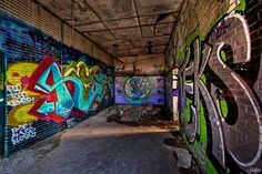 Abandoned Urban Factory, Chicago