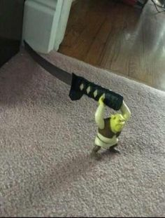 Mess with Shrek, you get hurt as heck Stupid Funny Memes, Haha Funny, Hilarious, Reaction Pictures, Funny Pictures, Cursed Images, Meme Faces, Mood Pics, Really Funny