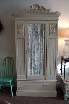 gorgeous wardrobe how can i diy this look? maybe play around w. moldings , glass and curtain combos?