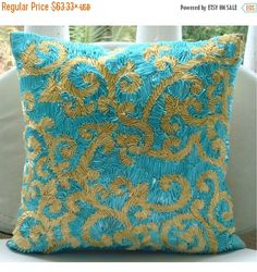 15% HOLIDAY SALE Creative Ribbons  Pillow Sham by TheHomeCentric