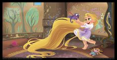 Little Rapunzel - Tangled