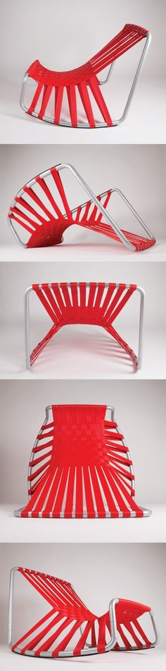 We don't often think of public seating as beautiful, but the NAP #chair aims to…