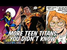 More Teen Titans You Didn't Know - YouTube