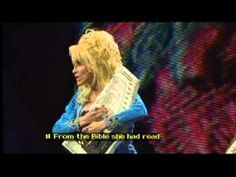 DOLLY PARTON-COAT OF MANY COLORS live in LONDON 2009 {with subtitles}