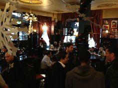 The Albert pub, diningroom upstairs.