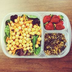 """"""" Packing lunches is surprisingly therapeutic. #easylunchboxes #lunch #healthy ...""""  Purchase EasyLunchbox containers HERE: http://www.easylunchboxes.com/"""