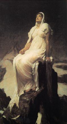 Frederic Leighton, Spirit of the Summit