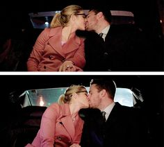 Arrow - Oliver & Felicity #Olicity #4.9 #Season4