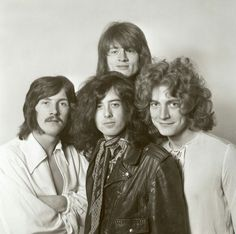 English rock group Led Zeppelin posed together in London in December From left to right, John Bonham, Jimmy Page , John Paul Jones and Robert Plant. Get premium, high resolution news photos at Getty Images Led Zeppelin Ii, Robert Plant Led Zeppelin, Jimmy Page, Great Bands, Cool Bands, Hard Rock, Beatles, Blues, Rock Music