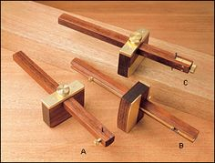 Deluxe Marking Gauges - Woodworking  $79.50 for cutting gage