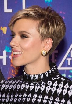 Scarlett Johansson attended the Ghost In The Shell premiere in Paris 3/21/2017