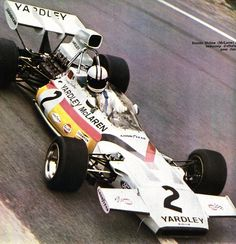 Denny Hulme - McLaren-Ford V8 - Grand Prix de France (Charade) 1972 L'Automobile Août 1972
