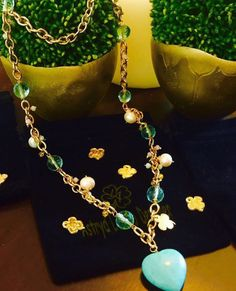 6cfd22df8765 Collar cadena baño de oro 24 kts. Con cristales austriacos facetafos
