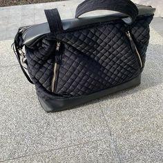 Rault Ghislaine sur Instagram: 👜 Sac à main 👜 #sacjavasmall #sacotin pour aller avec mon nouveau manteau #ismagnesiumfemme tissu principal velours ras noir matelassé…