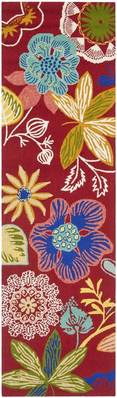 Four Seasons Floral Area Rug