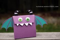 Mouthy Monsters Treat Bag - Under A Cherry Tree