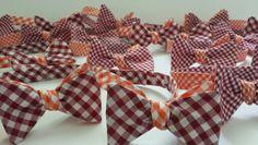 Plenty of Orange and Maroon Phi Ties!