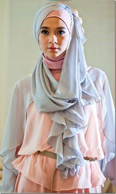 Hijab Fashion-Pastel Trends 2013