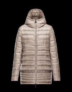 jacken schweiz, Moncler NARLAY Damen Mantel Für Sie Beige Polyamid Mantel  Beige, Zip Puller 3440465c33