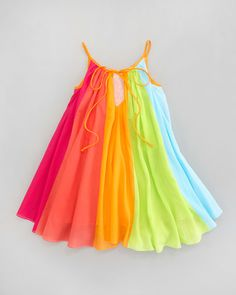 Rainbow Print Dress, Sizes 4-6X Baby Girl Dress Patterns, Little Girl Dresses, Baby Dress, Girls Dresses, Princess Dress Kids, Baby Girl Princess, Dress And Heels, The Dress, Baby Girl Fashion