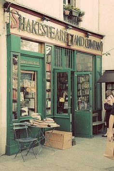Shakespeare and Co. Bookshop