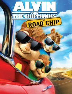 Alvin and the Chipmunks: The Road Chip Movie DVD - The Classy Chics