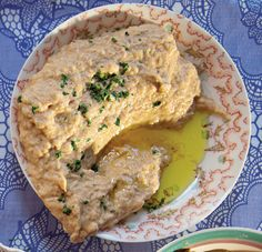 Baba Ghannouj (Mashed Eggplant Spread)  Recipe - Saveur.com (although I'd skip the mayo)