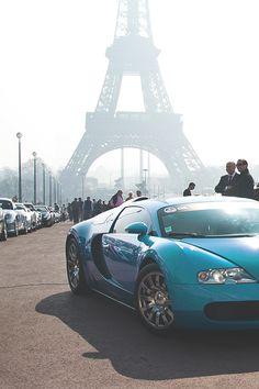 Bugatti In Paris-Via ~LadyLuxury~