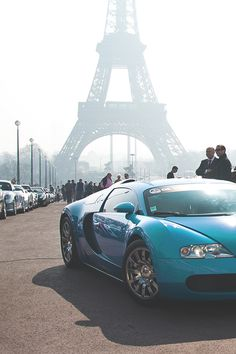 Bugatti In Paris-