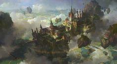 ArtStation - in the sky, lok du