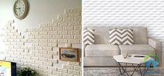 trang trí phòng khách bằng gạch ốp tường Love Seat, Furniture, Home Decor, Decoration Home, Room Decor, Home Furnishings, Home Interior Design, Home Decoration, Interior Design